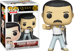 Queen - Freddie Mercury Radio Gaga Live Aid 1985 Pop! Vinyl Figure
