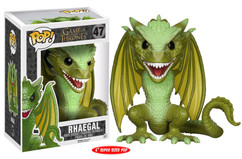 Rhaegal 6 Inch - Game of Thrones - POP! Television Vinyl Figure