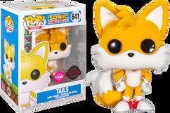 Sonic the Hedgehog - Tails Flocked Pop! Vinyl Figure