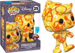 Pinocchio - Pinocchio Artist Series 80th Anniversary Pop! Vinyl Figure with Pop! Protector