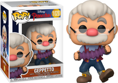 Pinocchio - Gepetto with Accordion 80th Anniversary Pop! Vinyl Figure