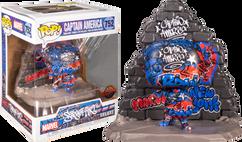 Captain America - Captain America Graffiti Deco Deluxe Pop! Vinyl Figure
