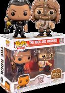 WWE - The Rock vs Mankind Pop! Vinyl Figure 2-Pack