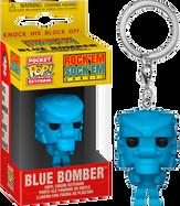 Rock 'Em Sock 'Em Robots - Blue Robot Pocket Pop! Vinyl Keychain