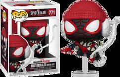 Marvel's Spider-Man: Miles Morales - Miles Morales in Winter Suit Pop! Vinyl Figure
