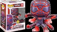 Marvel's Spider-Man: Miles Morales - Miles Morales in Programmable Matter Suit Glow in the Dark Pop! Vinyl Figure