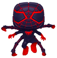 Marvel's Spider-Man: Miles Morales - Miles Morales in Programmable Matter Suit Jumping Glow in the Dark Pop! Vinyl Figure