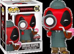Deadpool - Sherlock Deadpool 30th Anniversary Pop! Vinyl Figure