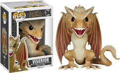 Viserion 6 Inch - Game of Thrones - POP! Television Vinyl Figure
