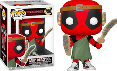 Deadpool - Larp Deadpool 30th Anniversary Pop! Vinyl Figure