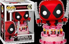 Deadpool - Deadpool in Cake 30th Anniversary Pop! Vinyl Figure