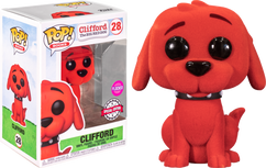 Clifford the Big Red Dog - Clifford Flocked Pop! Vinyl Figure