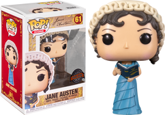 Jane Austen - Jane Austen with Book Pop! Vinyl Figure
