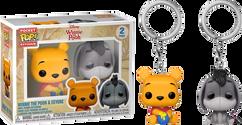 Winnie-the-Pooh - Winnie-the-Pooh & Eeyore Pocket Pop! Vinyl Keychain 2-Pack