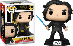 Star Wars Episode IX: The Rise Of Skywalker - Ben Solo with Blue Lightsaber Pop! Vinyl Figure