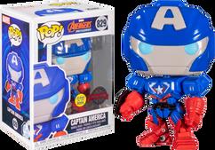 Avengers Mech Strike - Captain America Mech Glow in the Dark Pop! Vinyl Figure