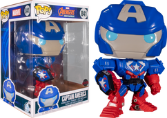 """Avengers Mech Strike - Captain America Mech 10"""" Pop! Vinyl Figure"""
