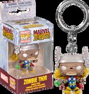 Marvel Zombies - Thor Zombie Pocket Pop! Vinyl Keychain