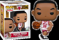 NBA Basketball - Scottie Pippen Chicago Bulls Pop! Vinyl Figure