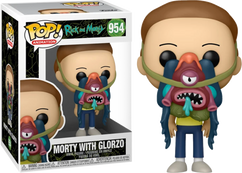 Rick and Morty - Morty with Glorzo Pop! Vinyl Figure