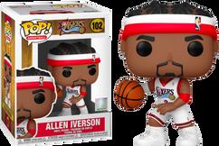 NBA Basketball - Allen Iverson Philadelphia 76ers Pop! Vinyl Figure