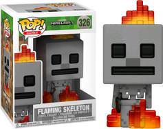 Minecraft - Flaming Skeleton Pop! Vinyl Figure