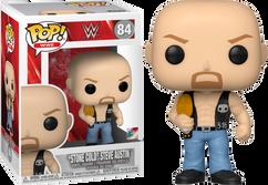 WWE - Stone Cold Steve Austin with Championship Belt Pop! Vinyl Figure
