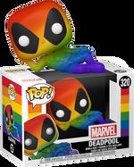 Deadpool - Deadpool Rainbow Pride 2021 Pop! Vinyl Figure