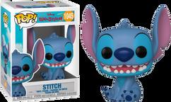 Lilo & Stitch - Stitch Smiling Seated Pop! Vinyl Figure
