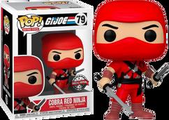 G.I. Joe - Cobra Red Ninja Pop! Vinyl Figure