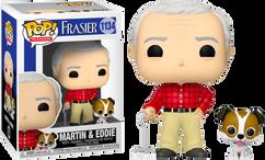 Frasier - Martin Crane with Eddie Pop! Vinyl Figure