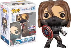 Captain America 2: The Winter Soldier - Winter Soldier Year of the Shield Pop! Vinyl Figure
