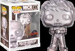 My Chemical Romance - Skeleton Gerard Way Platinum Metallic Pop! Vinyl Figure