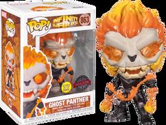 Infinity Warps - Ghost Panther Glow in the Dark Pop! Vinyl Figure
