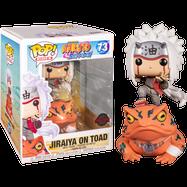 Naruto - Jiraiya on Frog Pop! Rides Vinyl Figure