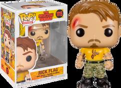 The Suicide Squad (2021) - Rick Flag Pop! Vinyl Figure