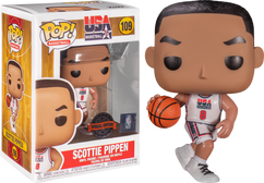 NBA Basketball - Scottie Pippen 1992 Team USA Jersey Pop! Vinyl Figure