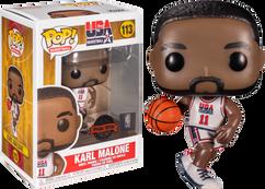 NBA Basketball - Karl Malone 1992 Team USA Jersey Pop! Vinyl Figure