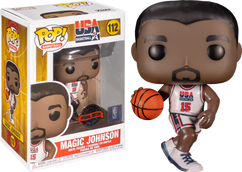 NBA Basketball - Magic Johnson 1992 Team USA Jersey Pop! Vinyl Figure
