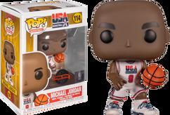 NBA Basketball - Michael Jordan 1992 Team USA Jersey Pop! Vinyl Figure