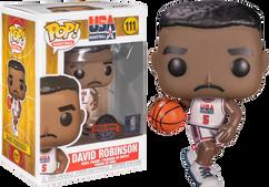 NBA Basketball - David Robinson 1992 Team USA Jersey Pop! Vinyl Figure