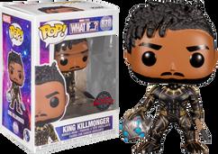 Marvel: What If…? - King Killmonger Pop! Vinyl Figure