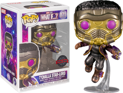 Marvel: What If…? - T'Challa Star-Lord Metallic Pop! Vinyl Figure