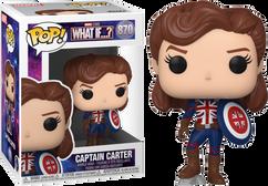 Marvel: What If…? - Captain Carter Pop! Vinyl Figure