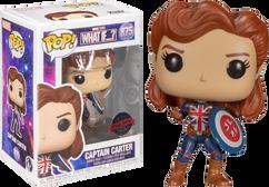 Marvel: What If…? - Captain Carter Fighting Pose Pop! Vinyl Figure