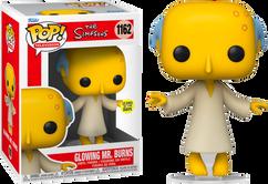 The Simpsons - Glowing Mr. Burns Glow in the Dark Pop! Vinyl Figure