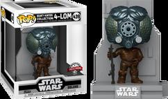 Star Wars Episode V: The Empire Strikes Back - 4-LOM Metallic Bounty Hunters Deluxe Pop! Vinyl Figure