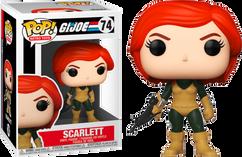 G.I. Joe - Scarlett Pop! Vinyl Figure