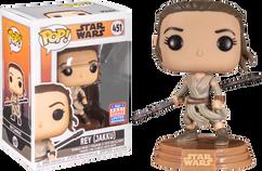 Star Wars: Across the Galaxy - Rey Jakku Pop! Vinyl Figure (2021 Summer Convention Exclusive)