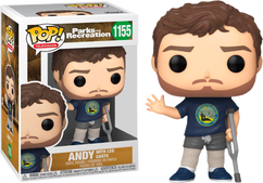 Parks and Recreation - Andy Dwyer with Leg Casts Pop! Vinyl Figure